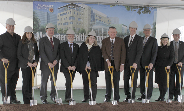 McMaster Health Campus groundbreaking