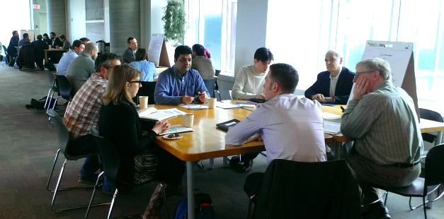 A recent summit brought together McMaster researchers, community organizations, city councillors and planners from the City of Hamilton to provide input into policy development and to discuss ways to build a business case for the city-wide expansion of complete streets.