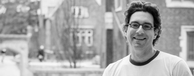 Hal Niedzviecki, the 2014-15 Mabel Pugh Taylor Writer-in-Residence