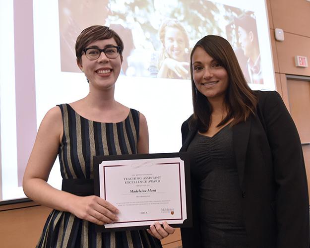 Grad Student Awards