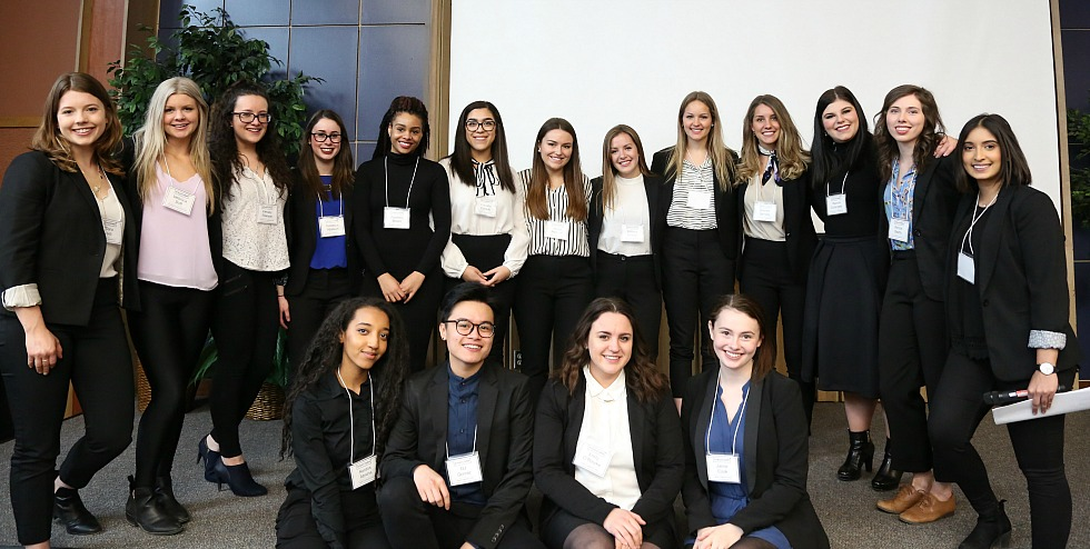 Four teams of finalists recently competed in StratComm 2017, an annual competition that pairs teams of Communications and Multimedia students from with local business owners to create comprehensive marketing and communications plans, some of which will actually be implemented.