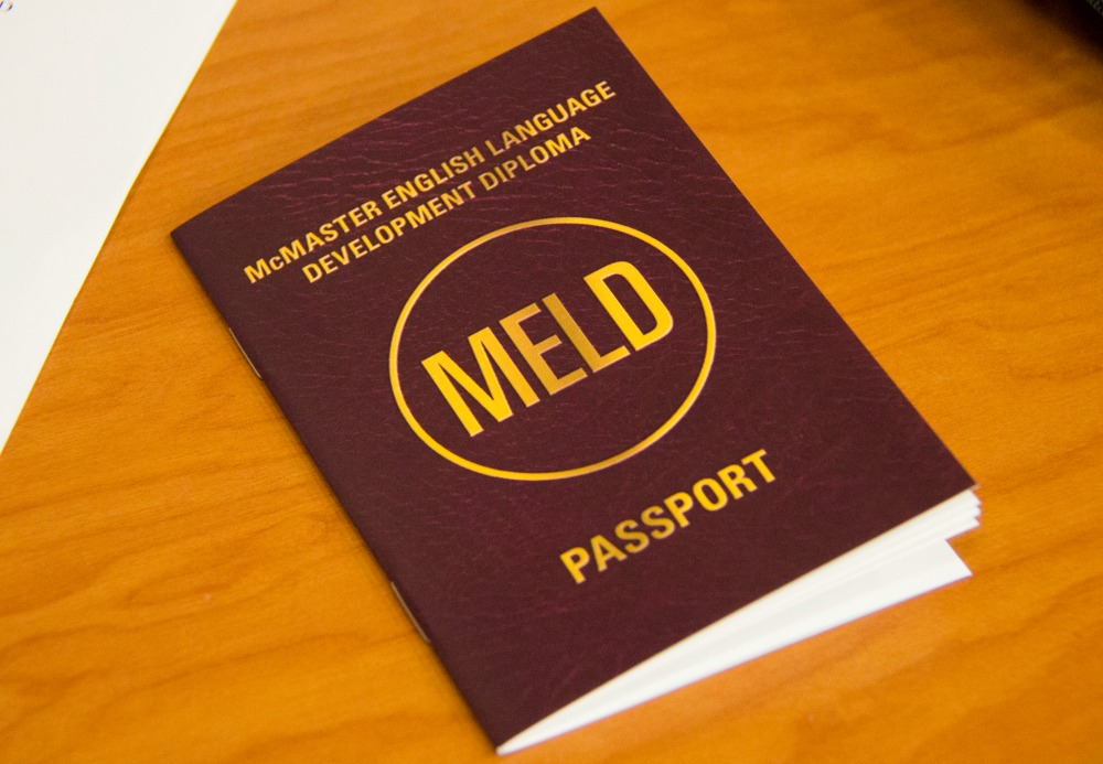 """Students in the MELD program are given a """"passport"""" booklet that encourages them to engage in extracurricular programming including the MELD Book Club. This year many students exceeded the 21 hour requirements with some completing nearly fifty co-curricular hours."""