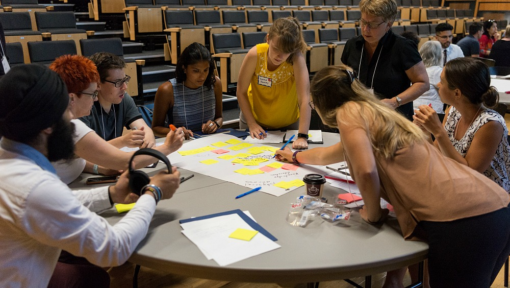 The Idea Exchange featured a number of workshops that brought together campus and community partners to discuss priority issues of interest to the Hamilton region.