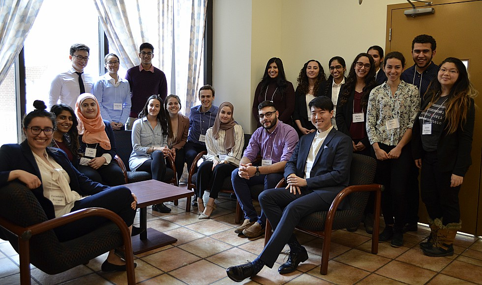 McMaster students presented their ideas at a recent competition aimed at finding innovative ways to take action on a number of global issues identified in the United Nations' Sustainable Development Goals.