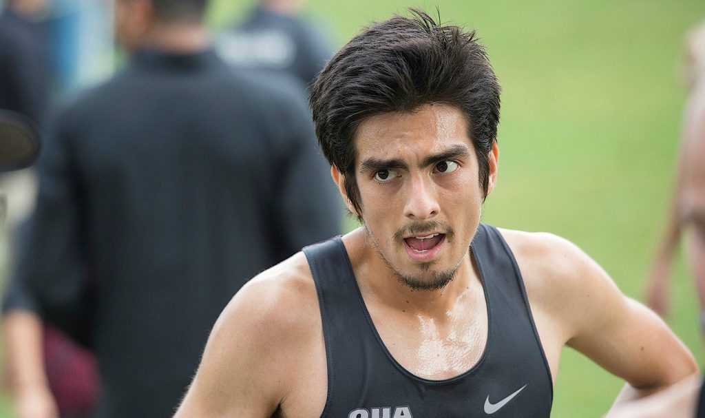 Sergio Raez Villanueva, who just won McMaster's Male Athlete of the year award, was named to Canada's national team for the World University Cross Country Championships.