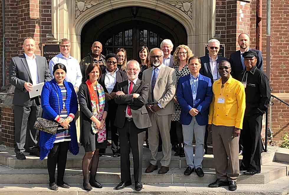 Leaders from universities around the world are at McMaster this week to take part in a unique seminar aimed at exploring the opportunities and challenges of internationalization, and what it means to be a globally engaged leader.