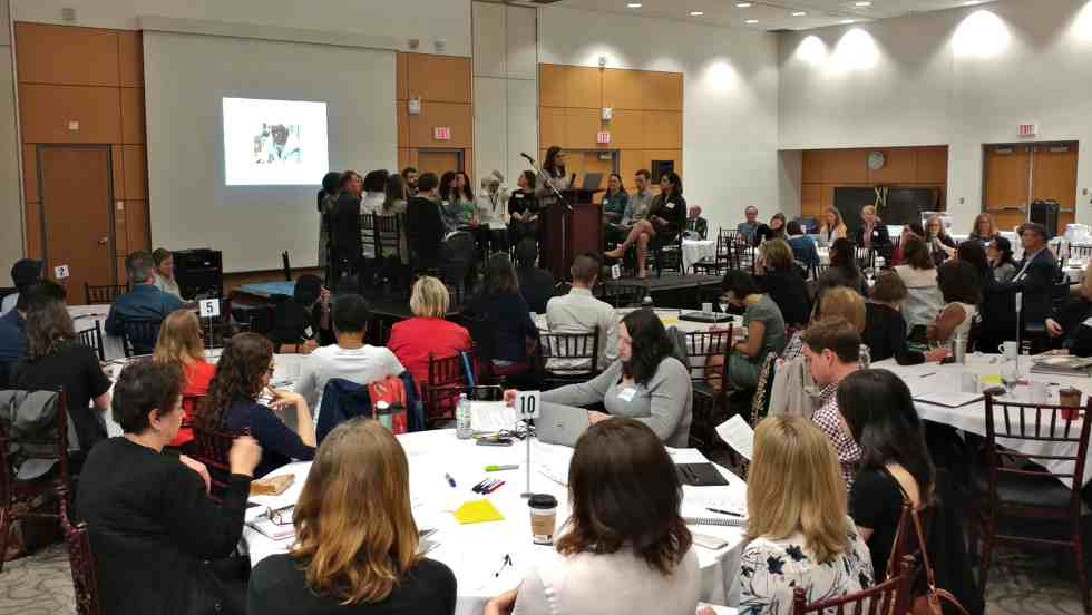 More than 130 McMaster faculty, staff and community partners gathered recently to share ideas and experiences and lessons learned at the annual Community-Campus Idea Exchange.