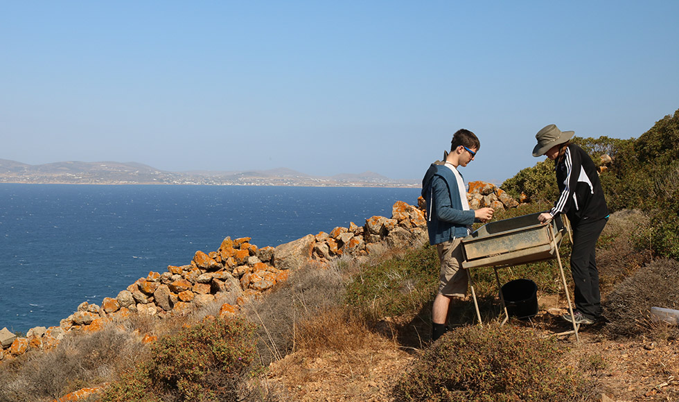 SNAP, archaeology, Naxos Greece