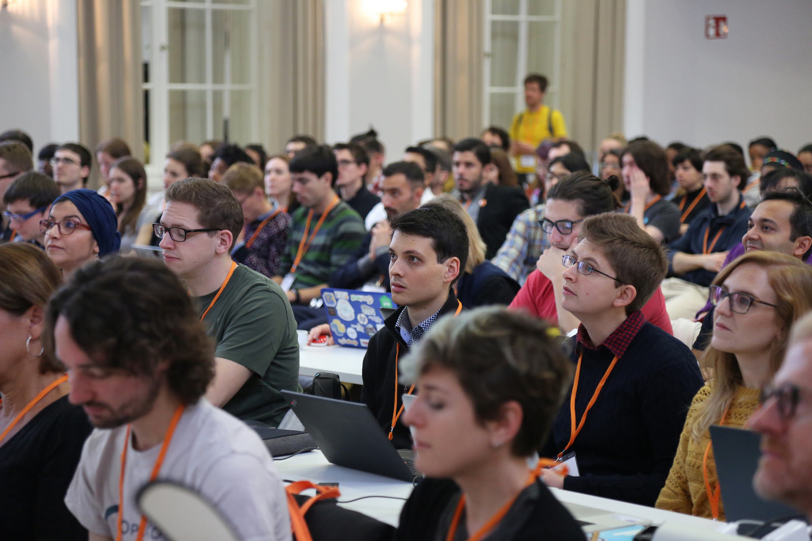 Scholars from around the world attended OpenCon 2017, held in Berlin, Germany. Photo by: Right to Research Coalition