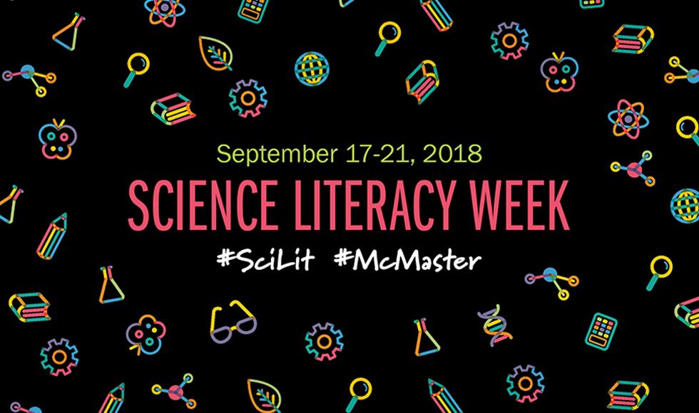 Science Literacy Week 2018 Banner