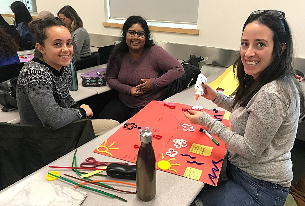 Life Sciences students try their hand at creating children's book as part of an innovative new science communication course, Life Science 4N03 – Science and Storytelling.