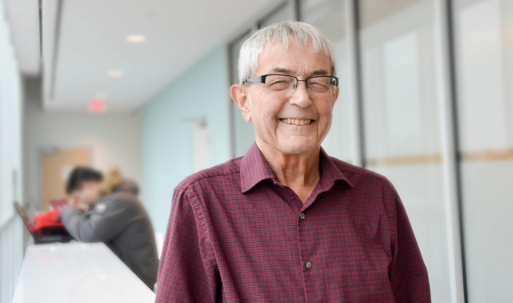 Political Science professor George Breckenridge started teaching at McMaster in 1967, and taught right up to his death in 2018.
