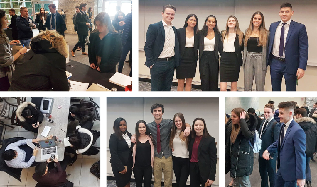 The first-year B.Comm cohort at the DeGroote School of Business participated in the 24-Hour Case Competition with a focus on financial literacy and planning.