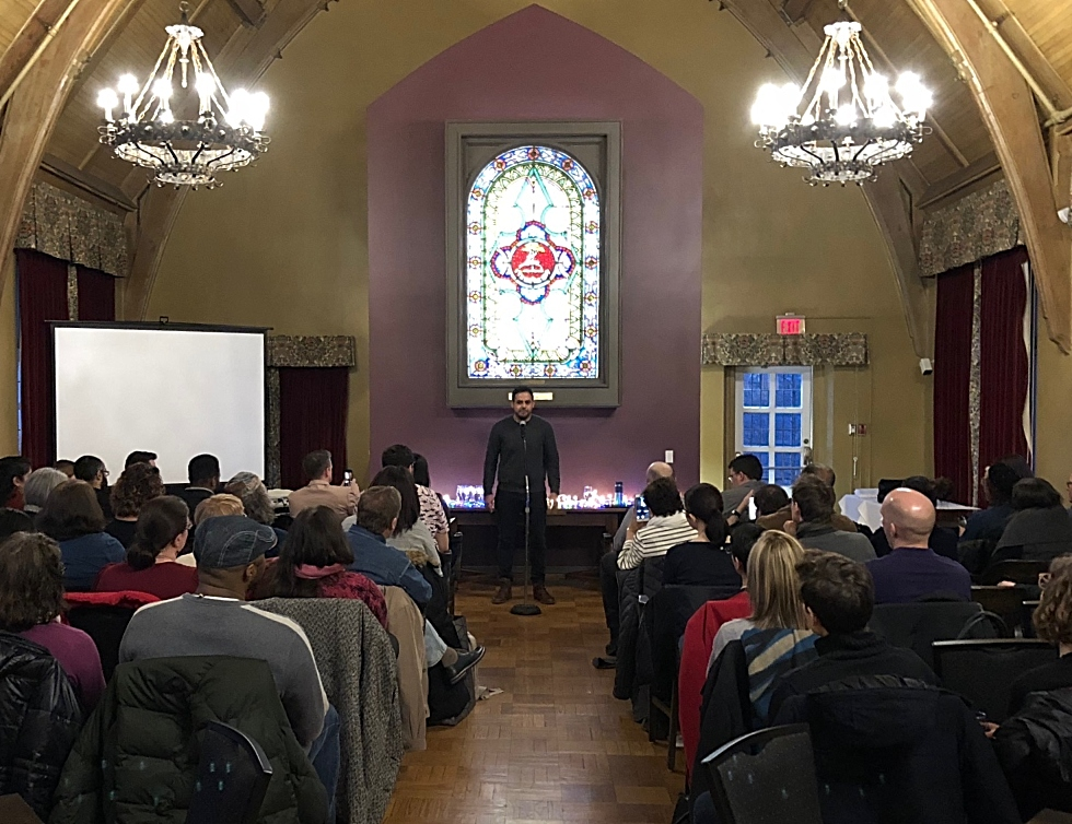 McMaster University Library recently partnered with Hamilton's Steel City Stories for a special event that brought together alumni, faculty, students and community members to share their stories about the ways in which science has intersected with their lives.