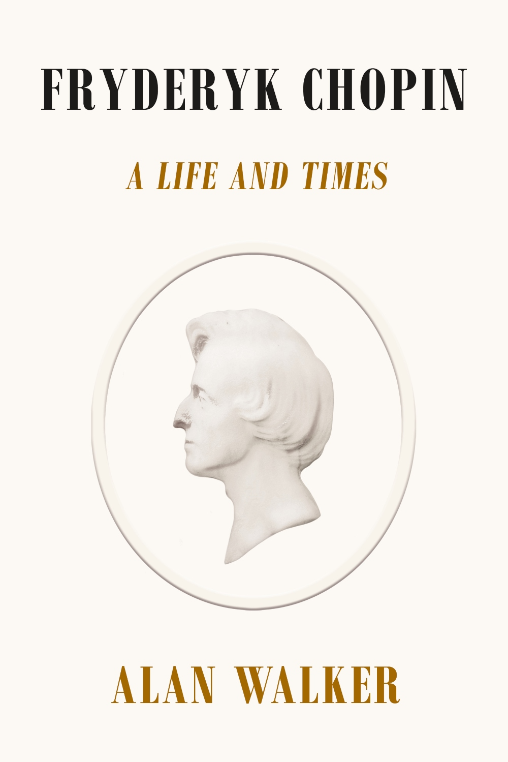 Book jacket for Fryderyk Chopin: A Life and Times.