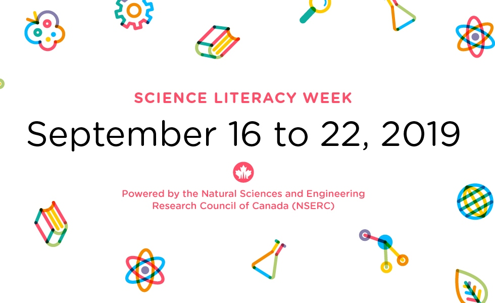 Science Literacy Week is an opportunity to celebrate the science that is happening all around us on campus and across Canada. Join McMaster University Library and our partners throughout the week of September 16 – 22 for a great lineup of events and activities.