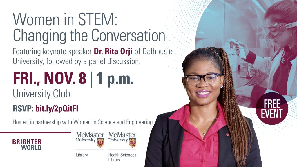 Women in STEM: Changing the Conversation poster