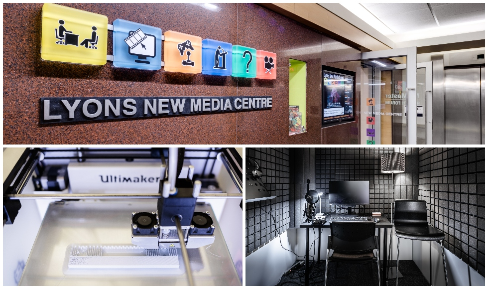 Images of the Lyons New Media Centre