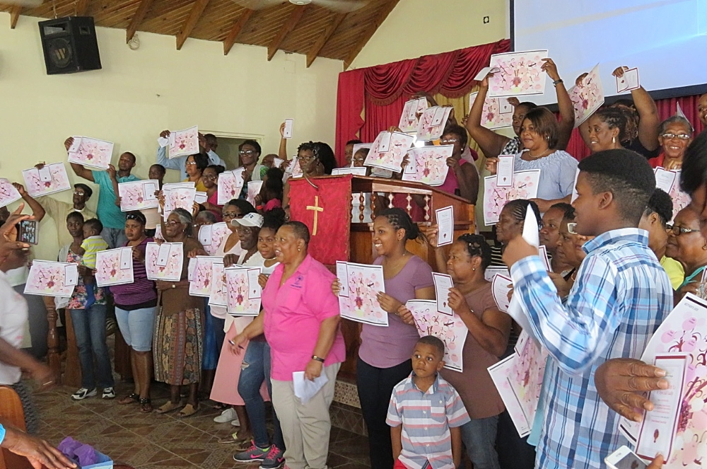 In 2018, Daniel and her team travelled to Jamaica to host a breast cancer awareness workshop at which they distributed vouchers for mammograms and family history charts meant to help attendees track their family history of chronic diseases including cancer.