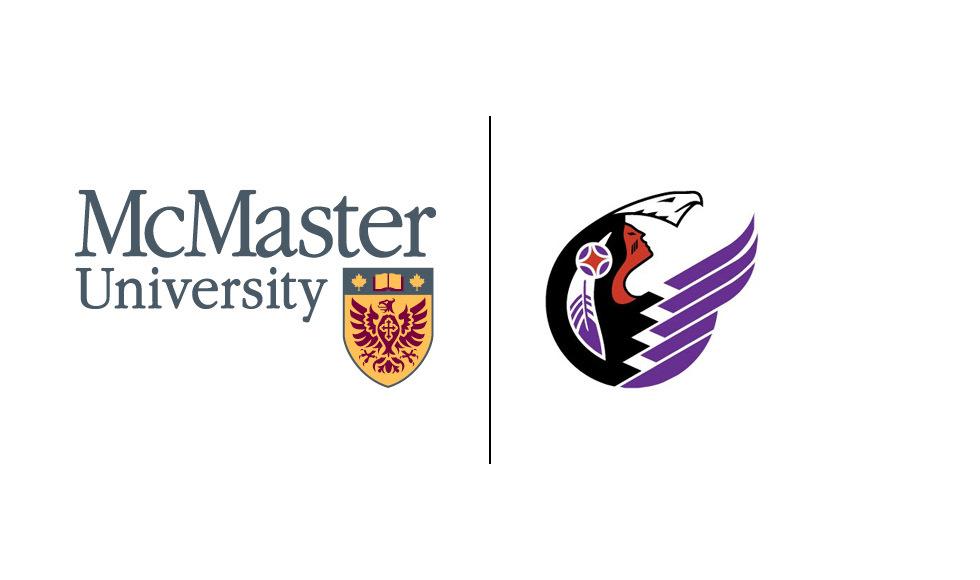 Logos of McMaster University and the Indigenous Studies Program